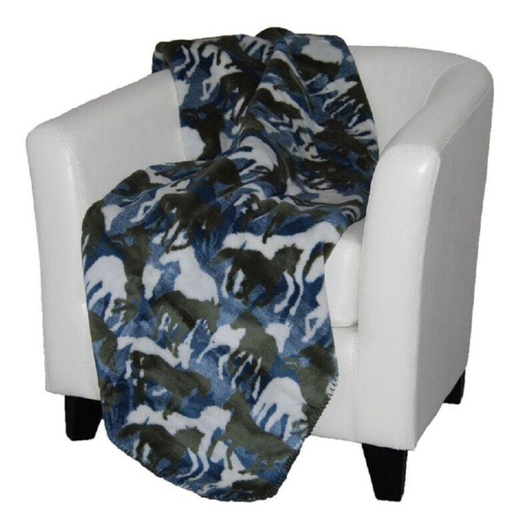 Denali Home Other - Throw Blanket, Theme-O-flage Camo Fleece, 50 x 60
